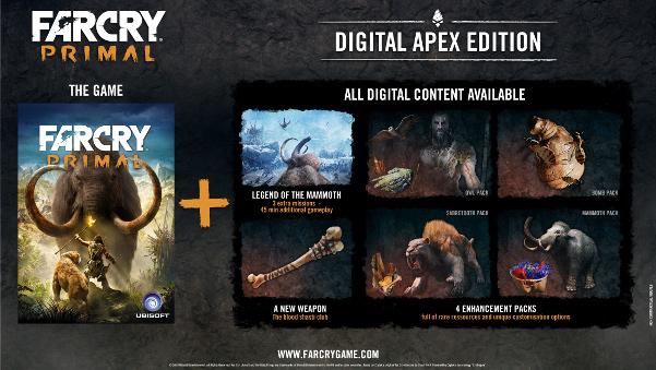 Far Cry Primal Apex Edition sur PC (dématérialisé)