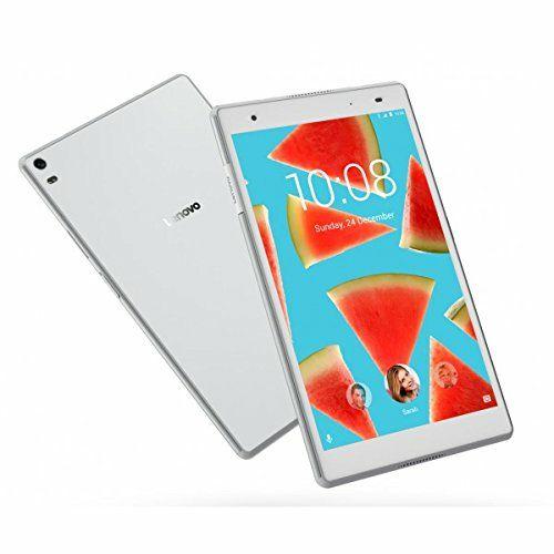 """[Précommande] Tablette 8"""" Lenovo Tab 4 - Snapdragon 625, 4Go RAM, 64Go ROM, 4G FHD Blanc"""