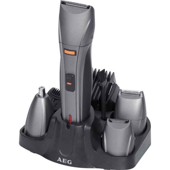 Tondeuse AEG BHT 5640 cheveux, barbe, rasoir et épilateur nez / oreilles