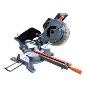 Scie à onglet radiale MANUPRO - 2 lames multi matériaux, 210 mm, 1450/1650W