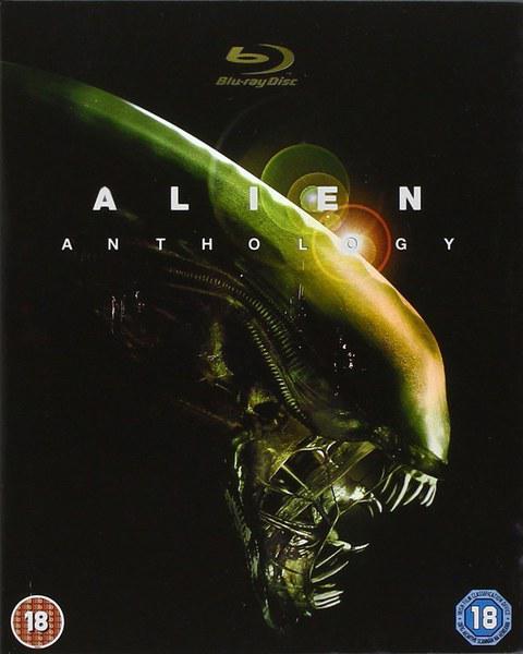 Coffret Blu-ray Alien Anthology (6 discs)