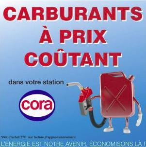 Prix coûtant sur les carburants - Ex : Gazole
