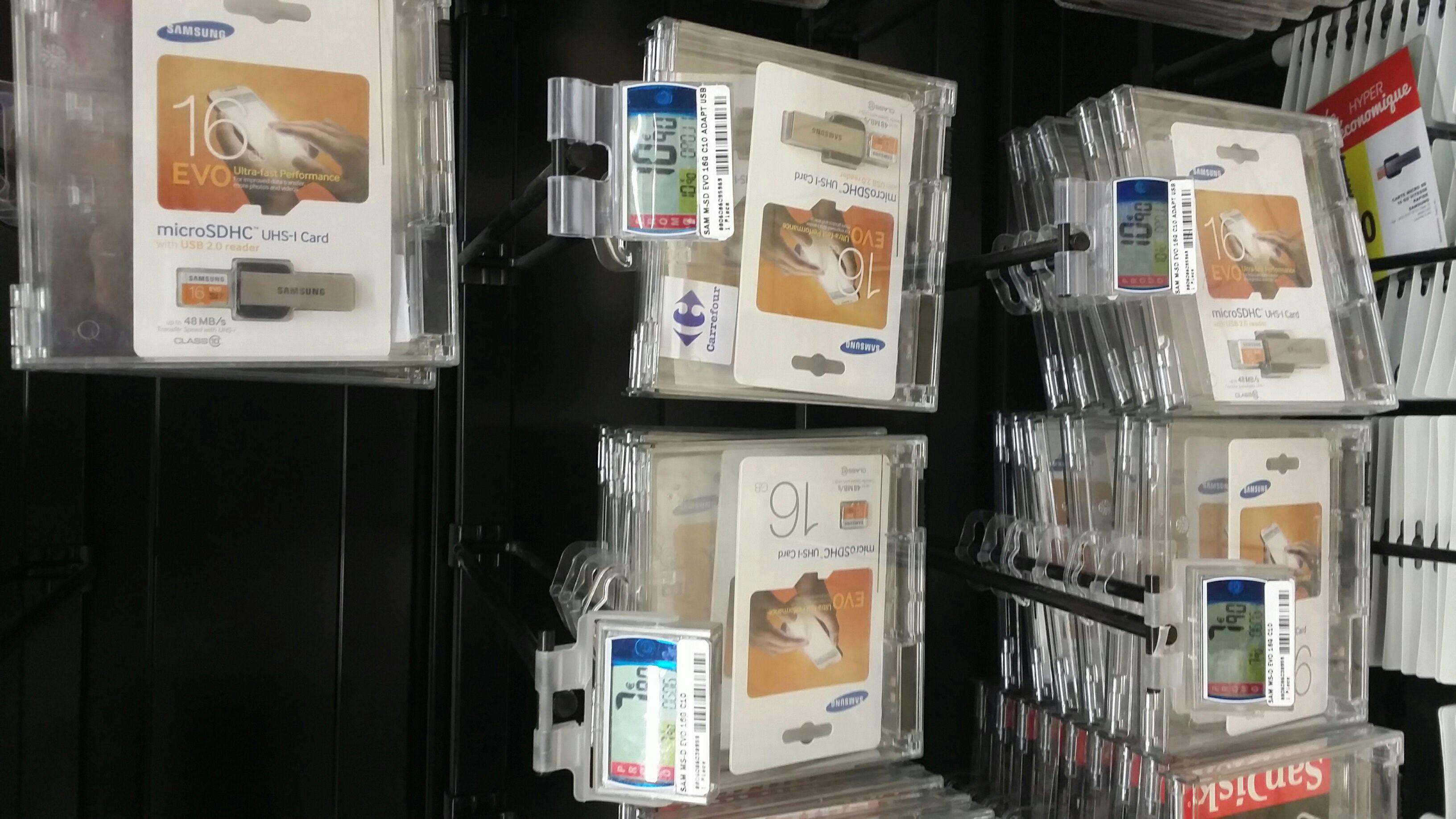 Sélection de cartes micro SD Samsung Evo en promo  - Ex : Carte micro SD Samsung EVO 16 Go
