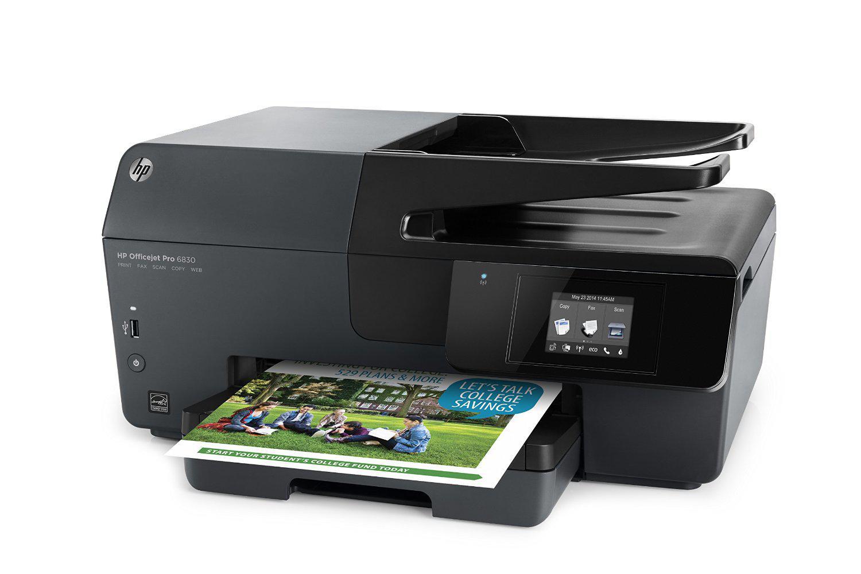 imprimante multifonction Jet d'encre HP OfficeJet Pro 6830 Couleur 18 ppm - Wifi + cartouche d'encre XL (ODR 40€)