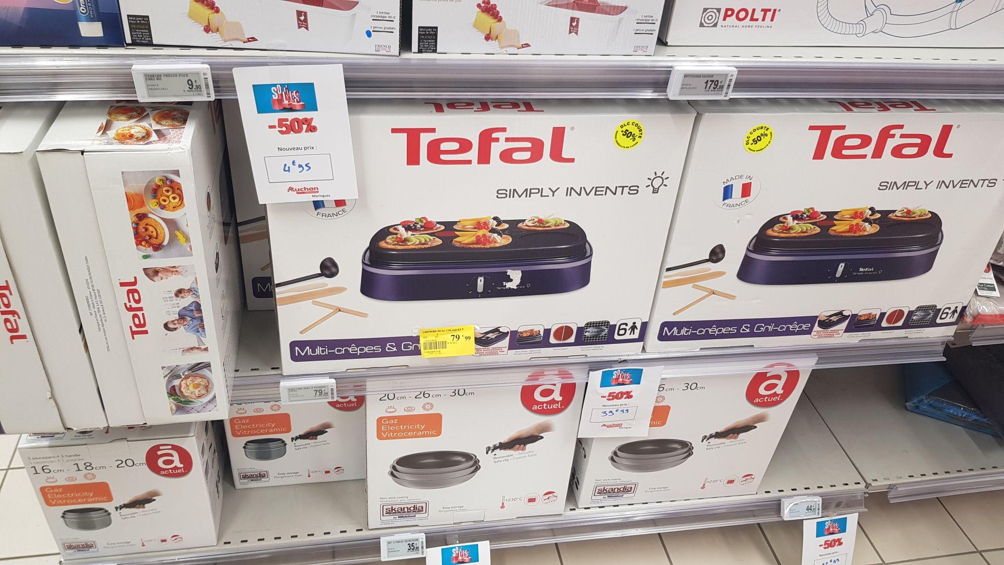 Appareil Tefal multi-crêpes et grill PY604612 - Maringues (63)