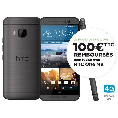 Smartphone HTC One M9 (avec ODR 100€)