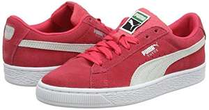 Sneakers Basses Mixte Enfant Puma Suede Classic - Rose (Taille 39)