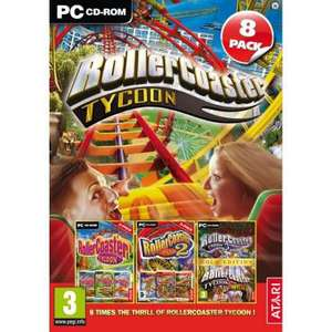 Pack Roller Coaster Tycoon 1, 2 et 3 sur PC + 5 Extensions