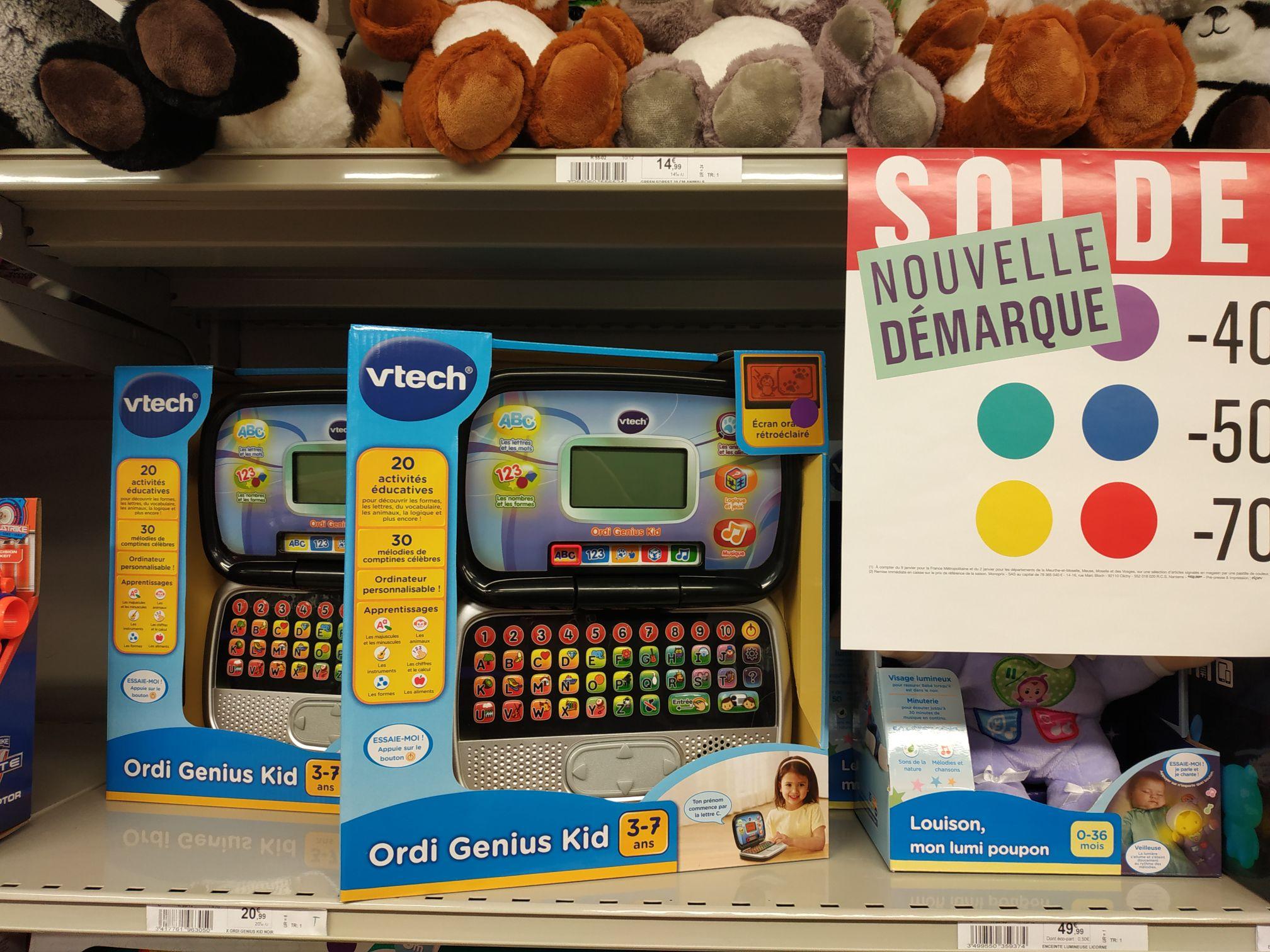 Ordinateur Vtech Genius Kid (3 à 7 ans) - Saint-tropez (83)