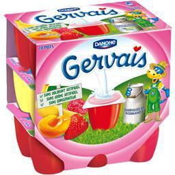 Pack de 18 Gervais aux fruits Danone (avec 40% sur la carte)