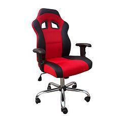 Fauteuil de bureau F1 Noir/Rouge