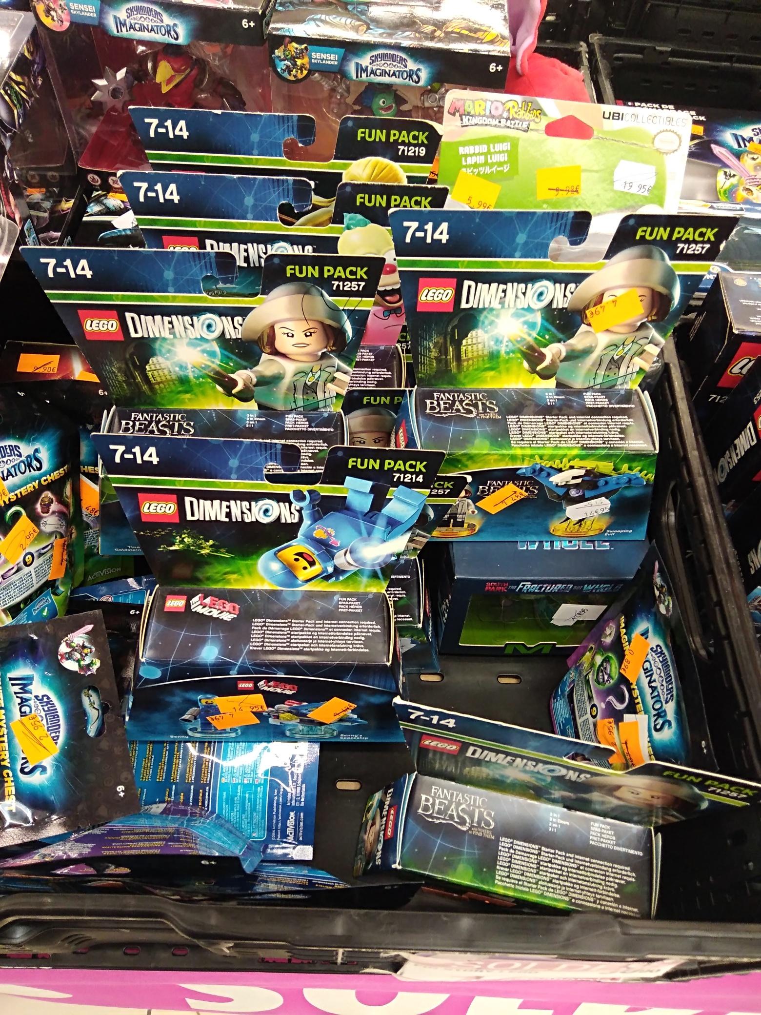 Lego Dimension Fantastic Beasts ou Fun pack (Voiron 38)