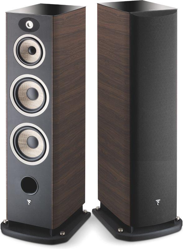 Paire d'Enceintes Colonne Bass-reflex Focal Aria 948 - Noyer