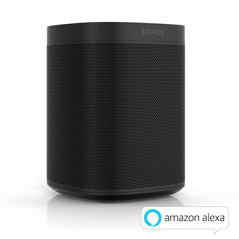 Enceinte sans-fil multiroom Sonos One - Wifi avec Alexa intégré - Noir