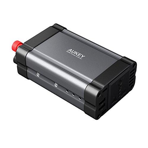 Convertisseur électrique allume-cigare Aukey PA-V31 - 2 ports USB, 12-220V, 300 W (vendeur tiers)