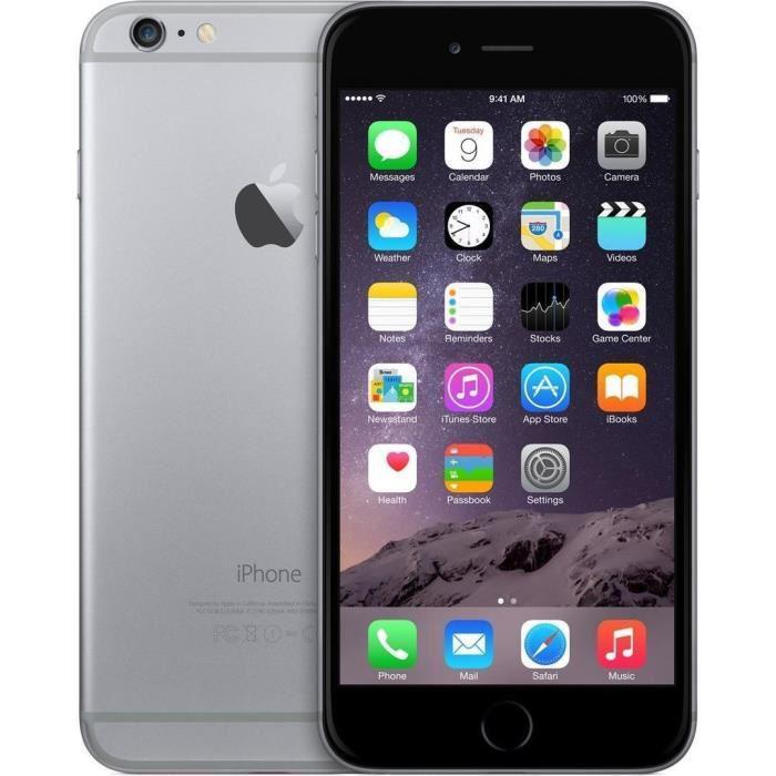 "Smartphone 4.7"" Apple iPhone 6 (HD+, A8, 1 Go de RAM, 16 Go) - reconditionné"