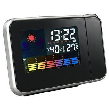 Mini-réveil avec projection au mur - Heure, Temperature, Humidité