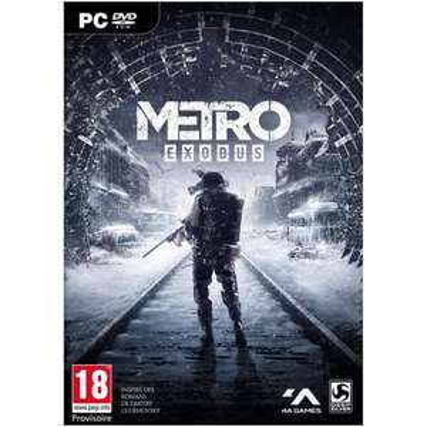 Jusqu'à 60% de réduction  sur les jeux en précommandes et les soldes - Ex : Metro Exodus sur PC