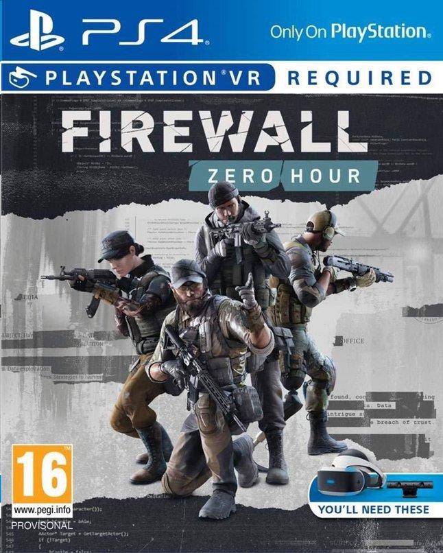 Firewall Zero Hour Sur PS4 (Frontaliers Belgique)