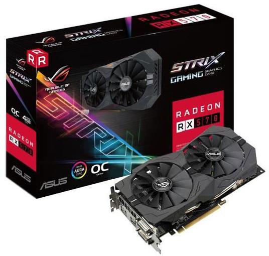 [Adhérents] Carte mère Asus ROG strix RX 570 - 4 Go DDR5