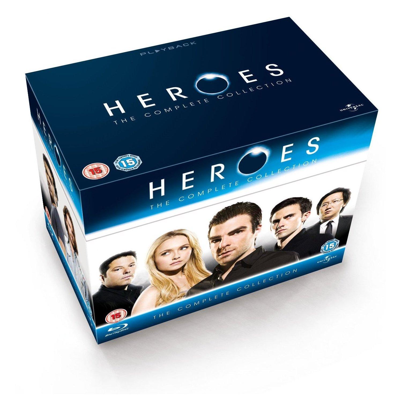Coffret Blu-ray Heroes - L'Intégrale (Saisons 1 à 4) - Import Anglais