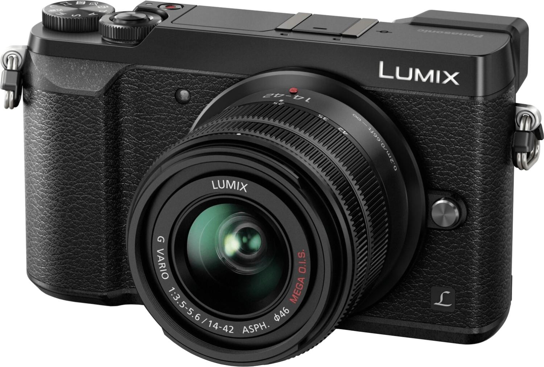 Appareil photo numérique hybride Panasonic Lumix DMC-GX80 (16 Mpix, Live MOS, stabilisation 5 axes, 4K) + objectif 14-42mm f3.5-5.6 Mega OIS