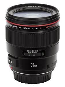 Objectif Canon  EF 35 mm f/1.4 L USM (ODR de 200 €)