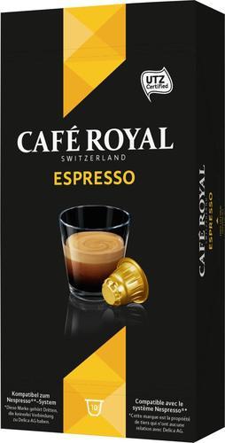 Lot de 2 paquets de 10 capsules de café royal Expresso gratuit (Via bdr de 3€)