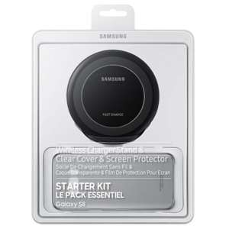 Pack Essentiel 2 EP-WG95B pour Smartphones Samsung Galaxy S8 - Noir