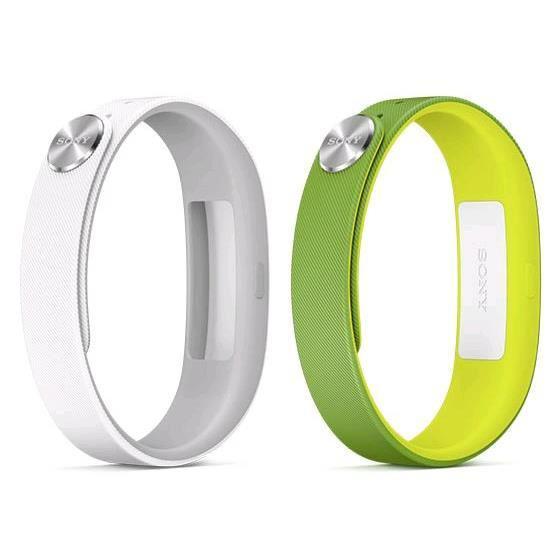 smartband Sony SWR 10 + 2 bracelet vert et blanc