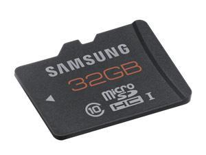 Carte mémoire Micro SDHC SAMSUNG 32 Go - Classe 10 - PLUS via paiement Buyster