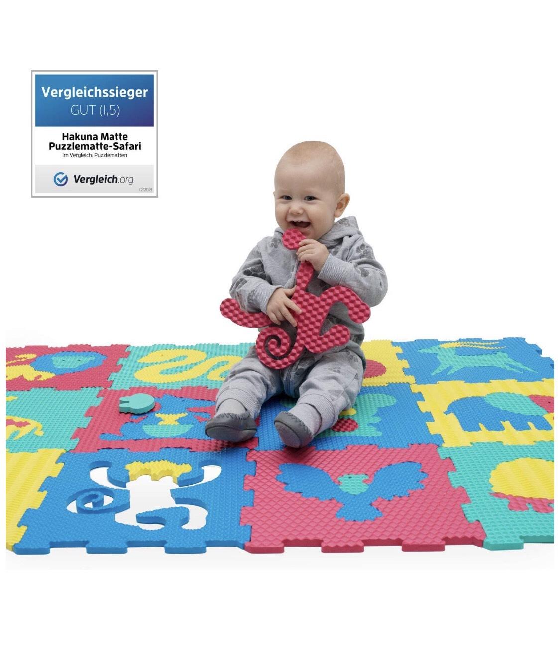 Tapis de jeu en mousse pour bébés et enfants - 12 dalles en mousse EVA (Vendeur tiers)