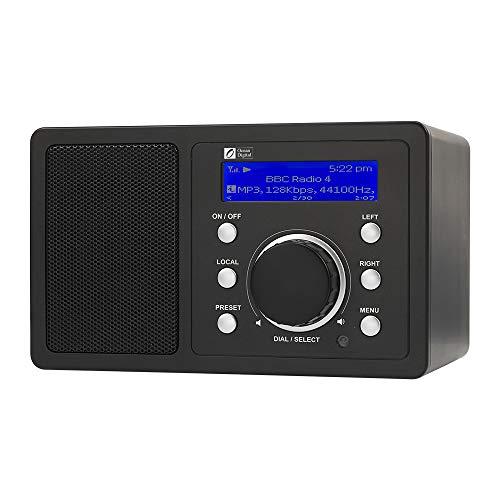 Radio-réveil Ocean Digital WR202 - noir (vendeur tiers)