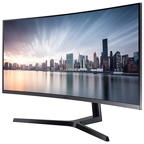 "Ecran PC incurvé 34"" Samsung LC34H892WJUXZG - UWQHD, LED VA, 4 ms"