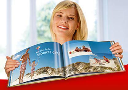 5€ de réduction sur les articles photo (livres photo, calendriers...) dès 25€ d'achat, 10€ dès 40€ et 15€ dès 50€