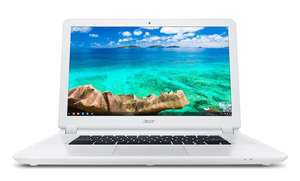 "PC Portable 15"" Acer Chromebook CB5-571-32AS - Blanc - Intel Core i3, 4 Go de RAM, 32 Go SSD"