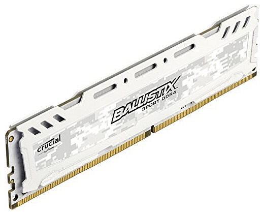 Barrette RAM DDR4 Ballistix Sport LT 16Go - 2666 MT/s