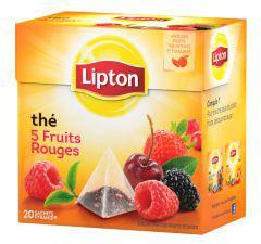 Thé ou Infusion Lipton (via BDR de 1.30€)