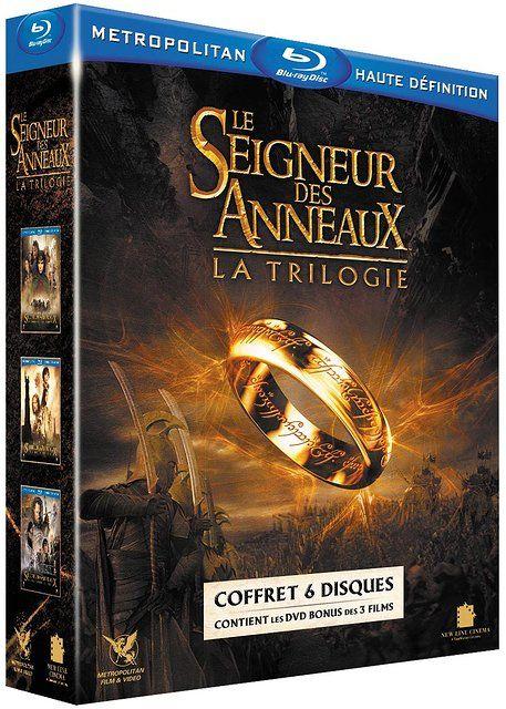Sélection de Blu-ray - Ex: Coffret Le Seigneur des Anneaux - La trilogie + 1,40€ en Super Points
