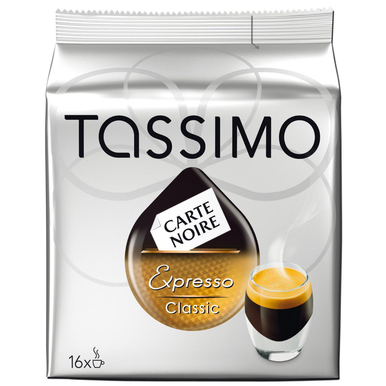 3 Paquets de dosettes Tassimo Carte noire 16 dosettes (différentes variétés)