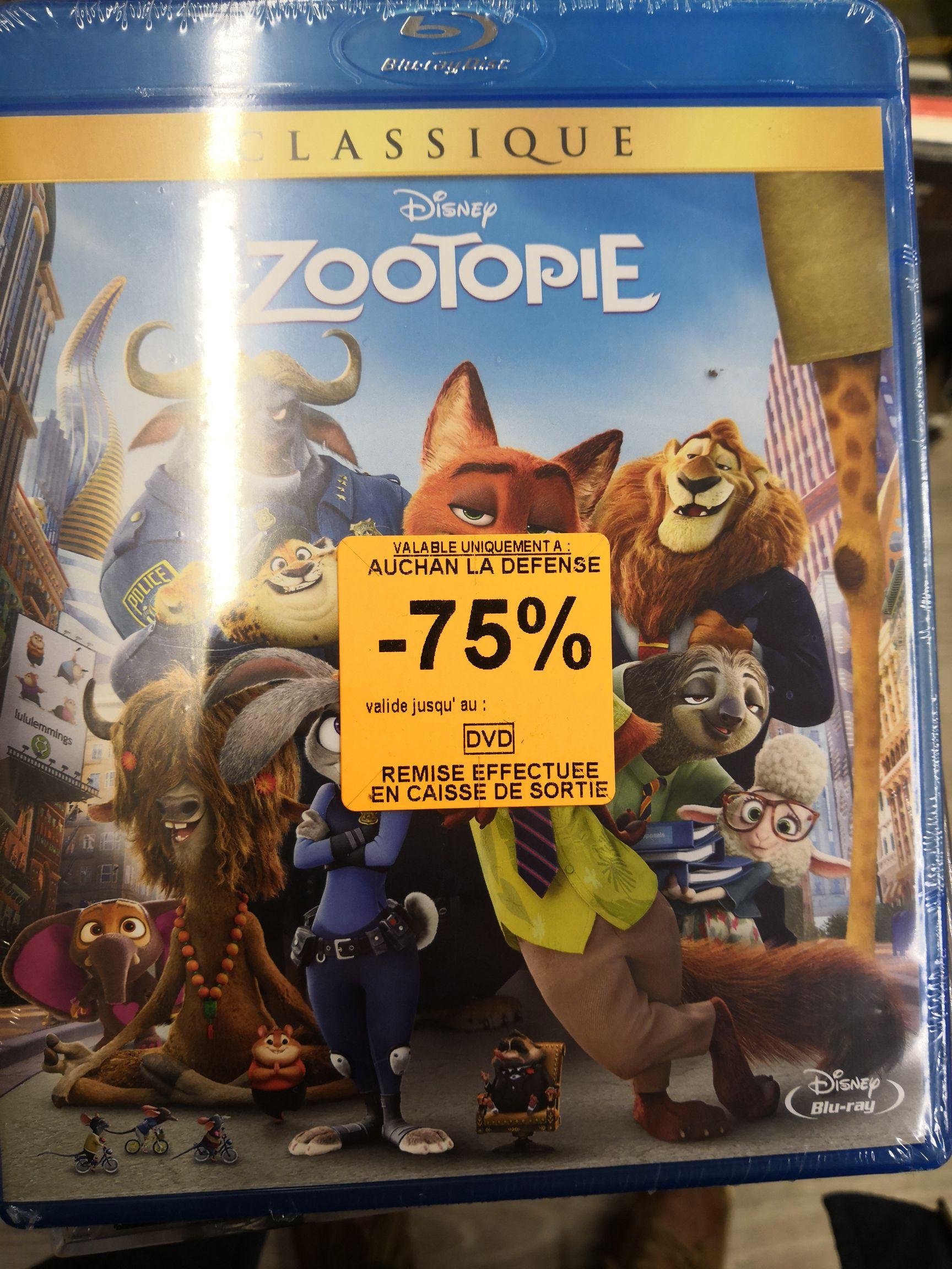 Sélection de Blu-Ray en promotion - Ex :Zootopie - La Défense (92)