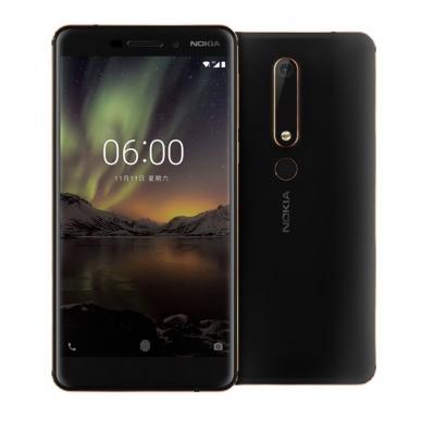 """Smartphone 5.5"""" Nokia 6.1 - SnapDragon 630, 3 Go de RAM, 32 Go"""