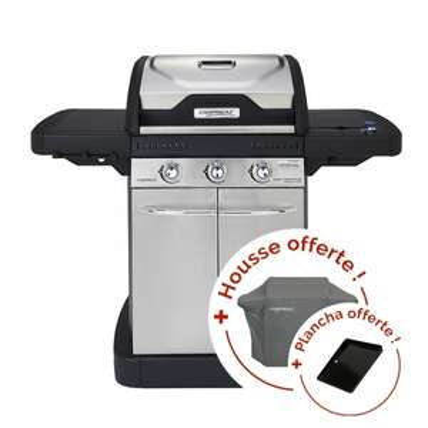 barbecue gaz campingaz master 3 housse plancha raviday. Black Bedroom Furniture Sets. Home Design Ideas