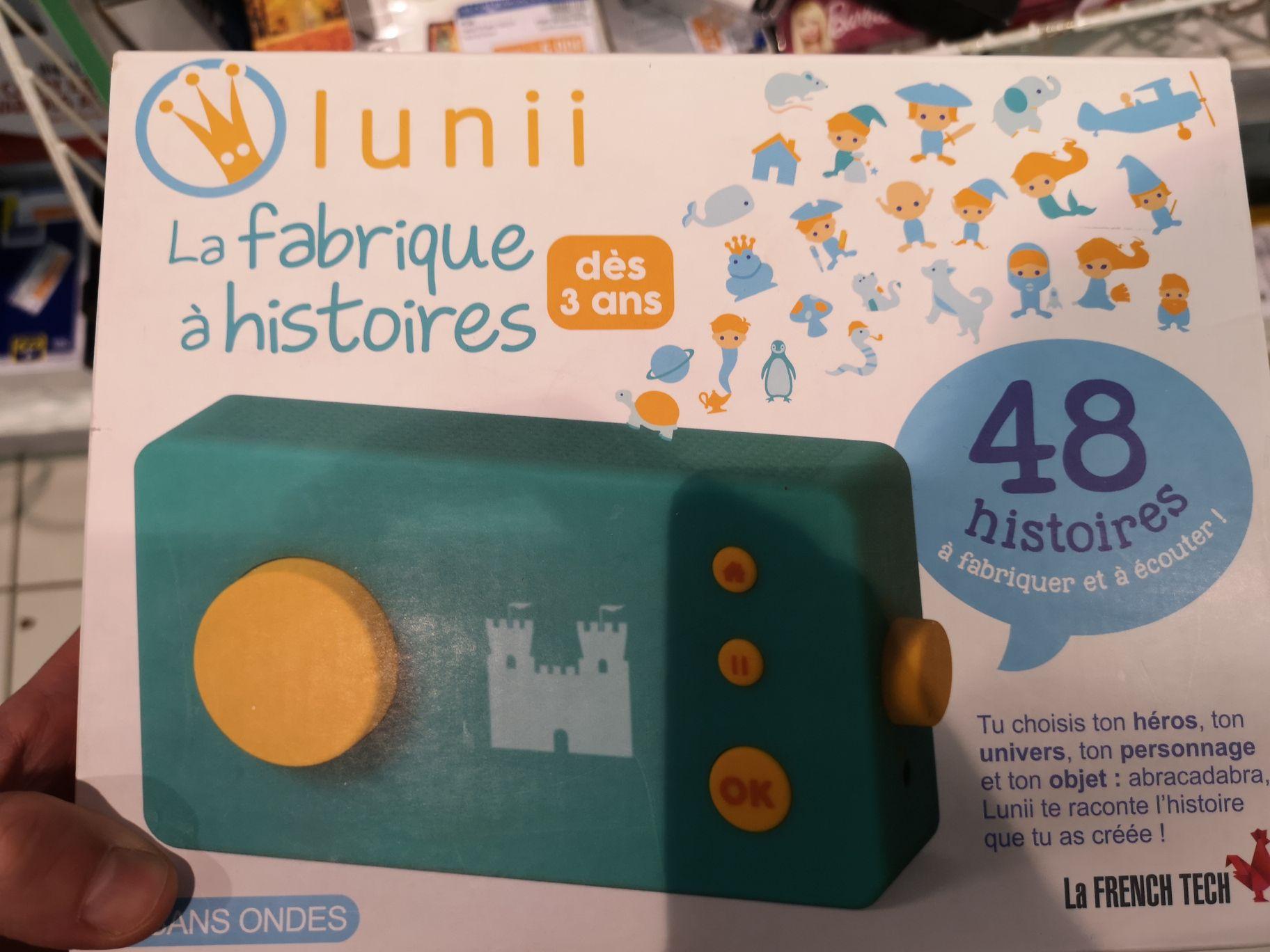 Lunii : La Fabrique à histoire - Menneval (27)