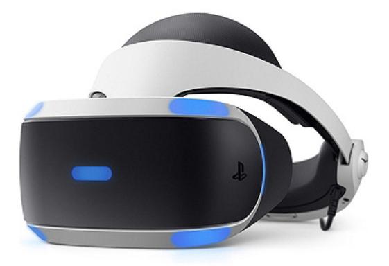 Casque de Réalité Virtuelle Playstation VR MK4 (PSVR) + Caméra + VR Worlds (Voucher)