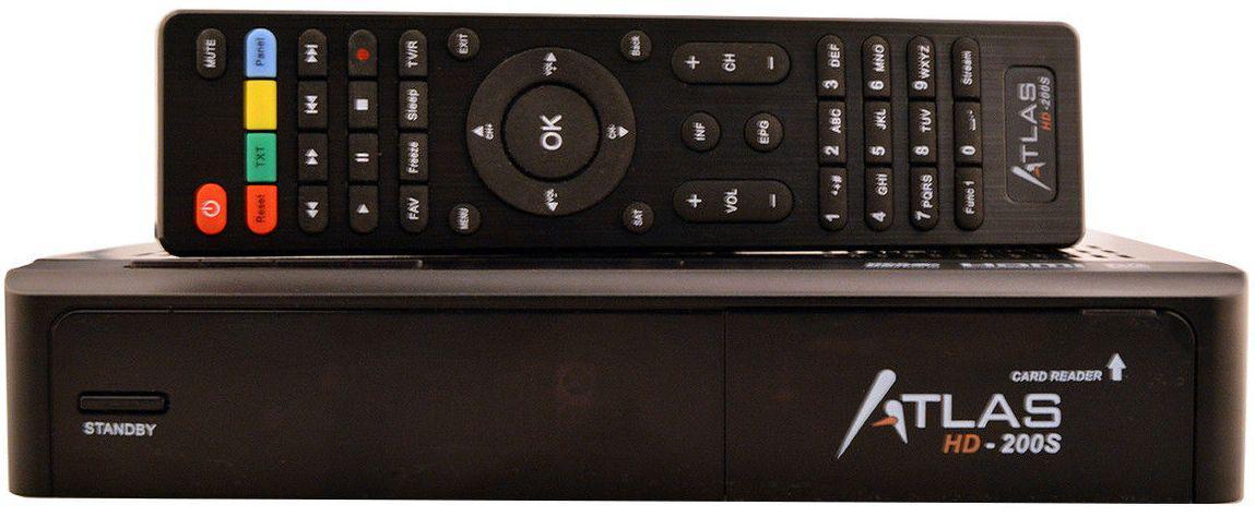 Récepteur Atlas 200S HD + Monobloc  LNB Twin
