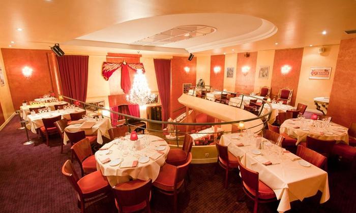 2 Menus Lyriques au Restaurant Bel Canto à Neuilly