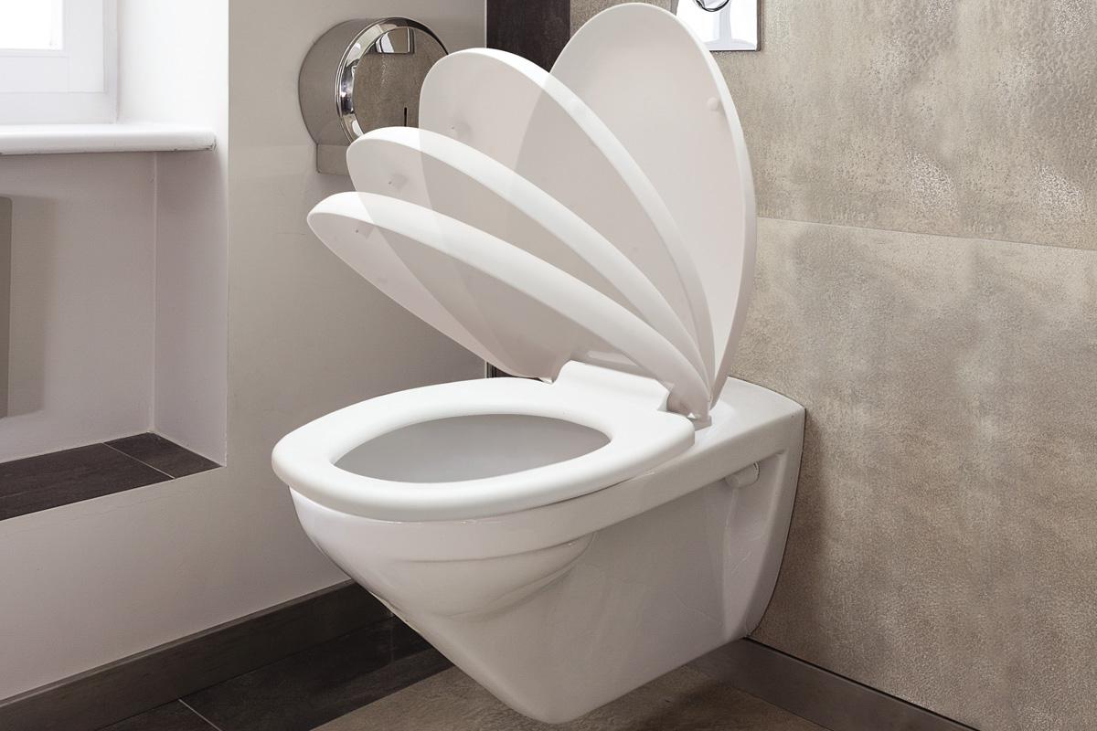Abattant WC Buanderie & Rangement avec frein de chute