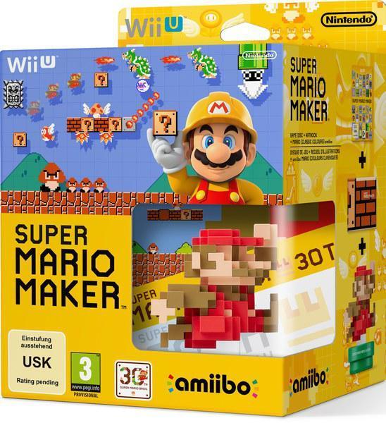 Précommande : Jeu Super Mario Maker sur Wii U + Amiibo (Collector)