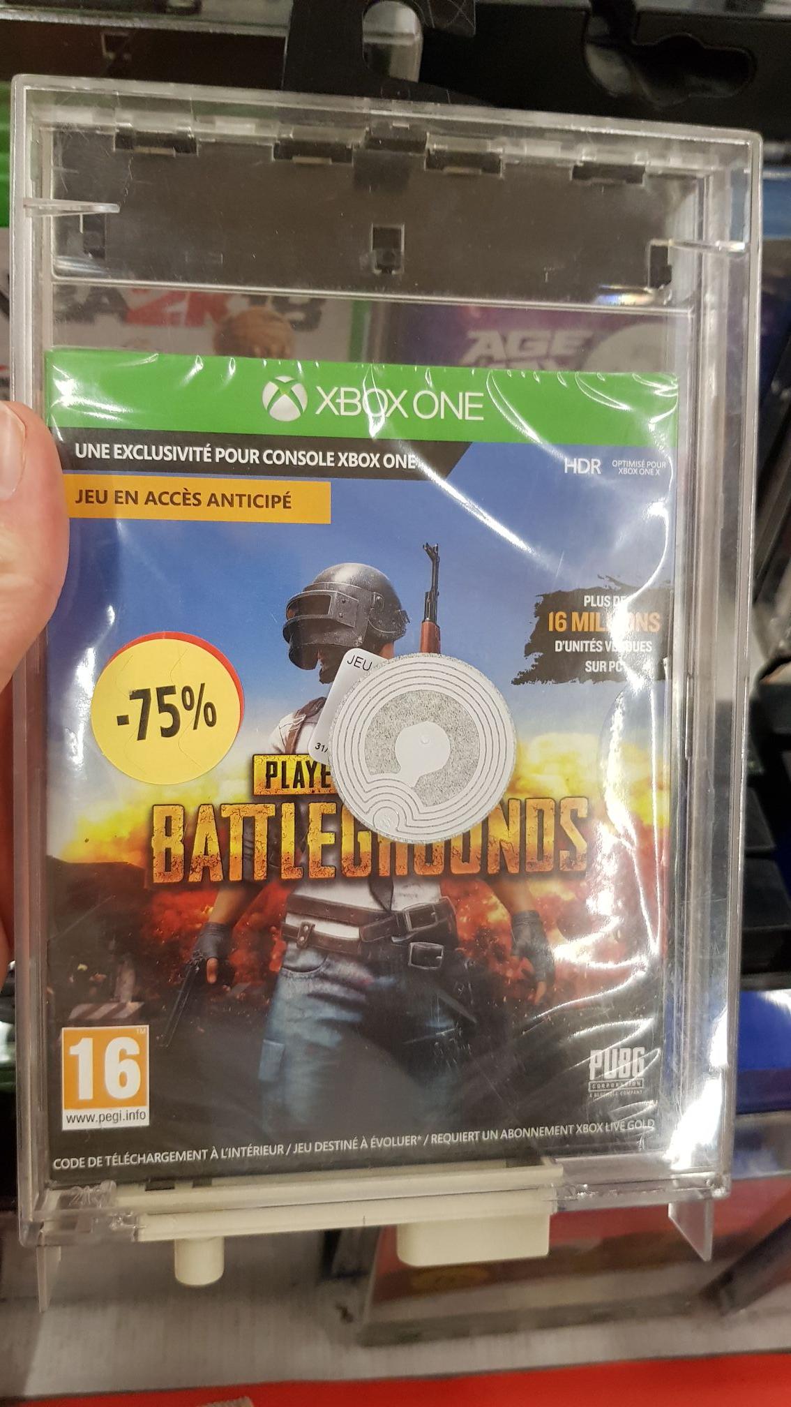 Sélection de jeux PS4 et Xbox One en promotion - Ex: Jeu PUBG sur Xbox One - Moulins-lès-Metz (57)